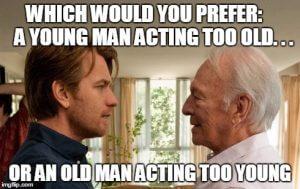 young vs Old