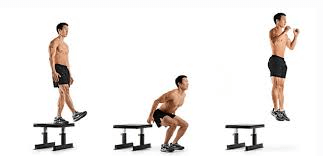 Drop jump to sprinting faster