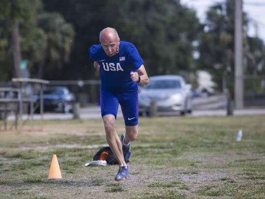 Roger Vergin Master Athlete