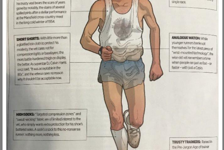 image of the vet athlete