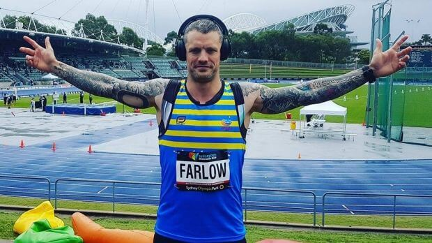 Adam Farlow Masters Athletics