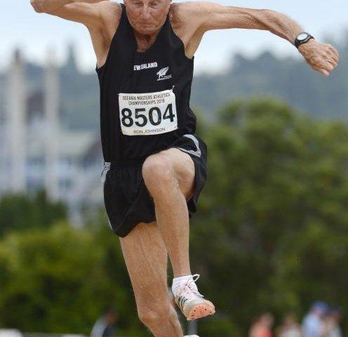 Ron Johnson Master Athlete