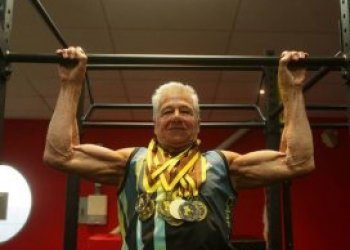 Never too old to win national athletics competition