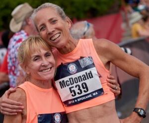 Sue McDonald and Lesley Hinz