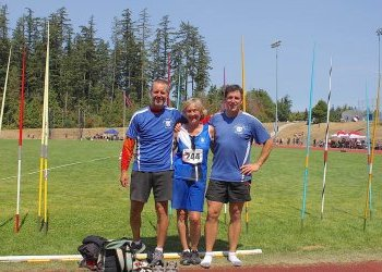 Comox Valley track athletes win masters gold