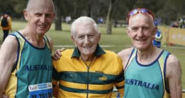Master Athlete John Gilmour