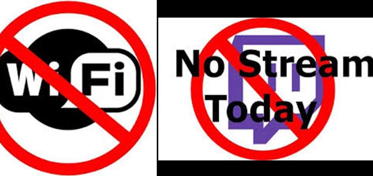 NO Wi-Fi NO Streaming